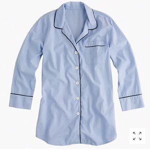 J-Crew Women's Sleep Shirt